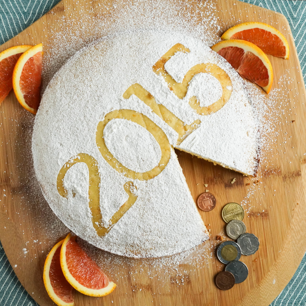 Vasilopita (Greek New Year Cake)