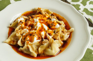 Manti (Turkish Dumplings)
