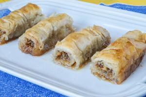 Saragli (Greek Rolled Baklava)