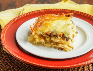 Firinda Kiymali Makarna (Turkish Baked Pasta with Ground Beef)