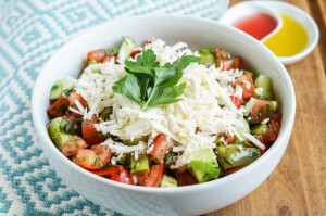 Shopska Salata (Bulgarian Salad)