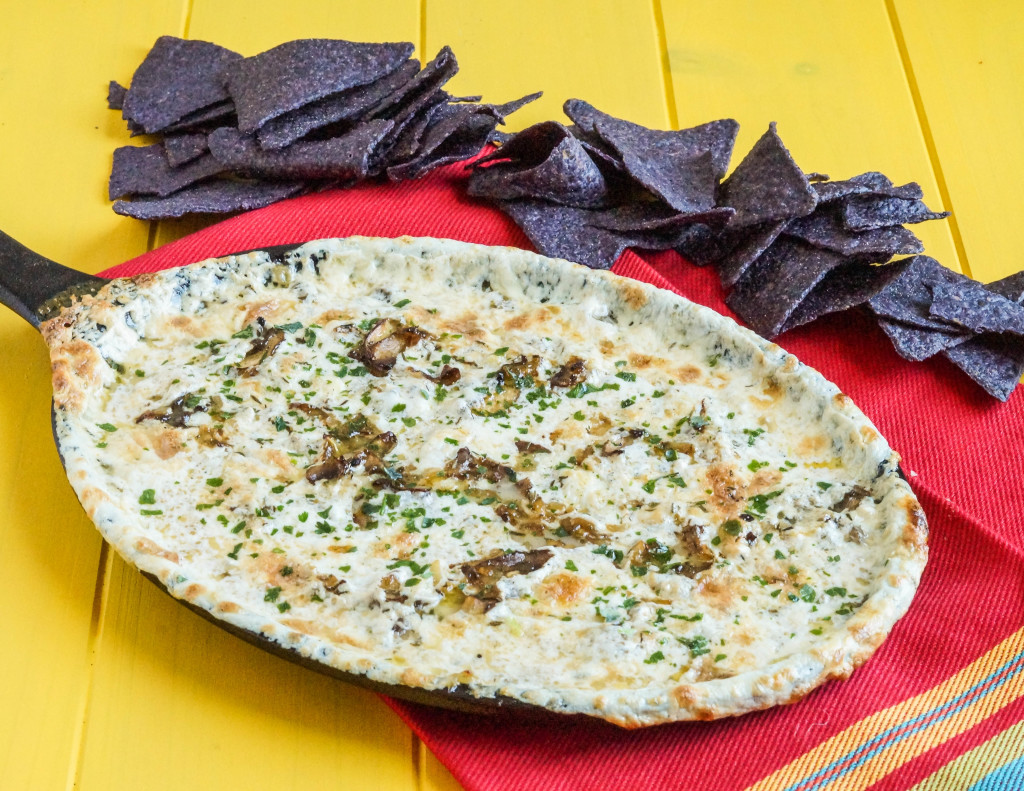 garlic mushroom queso fundido (1 of 3)