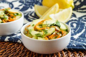 Kachumbari Ya Matango (Tanzanian Cucumber Salad)