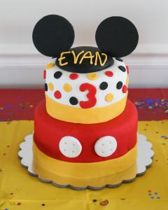Evan is 3!