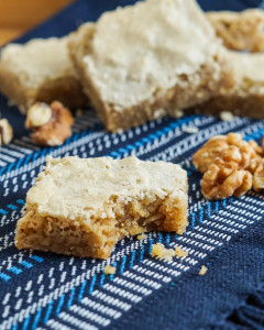 The Silver Spoon: Puglia Cookbook Review and Biscotti Glassati alle Noci (Iced Walnut Biscuits)
