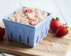 Risotto alla Fragola (Italian Strawberry Risotto)