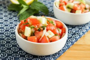 Domates Salatası (Turkish Tomato Salad)