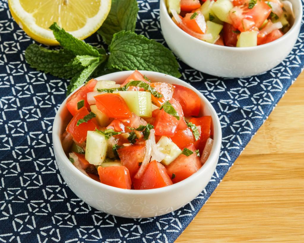 Domates Salatasi- Turkish Tomato Salad2