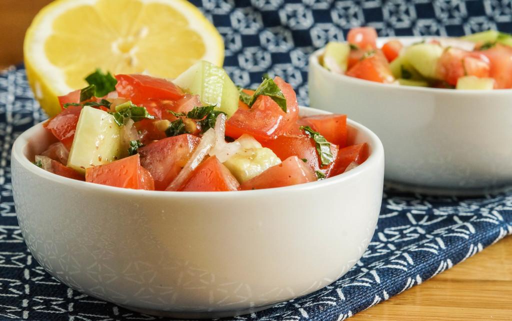 Domates Salatasi- Turkish Tomato Salad1