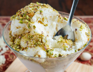 #FoodieExtravaganza Creative Ice Cream Flavors: Éma'a (Syrian Ice Cream)
