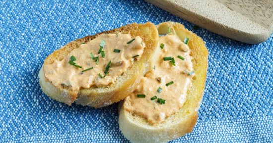 Liptauer (Austrian Paprika and Herb Cheese Spread)