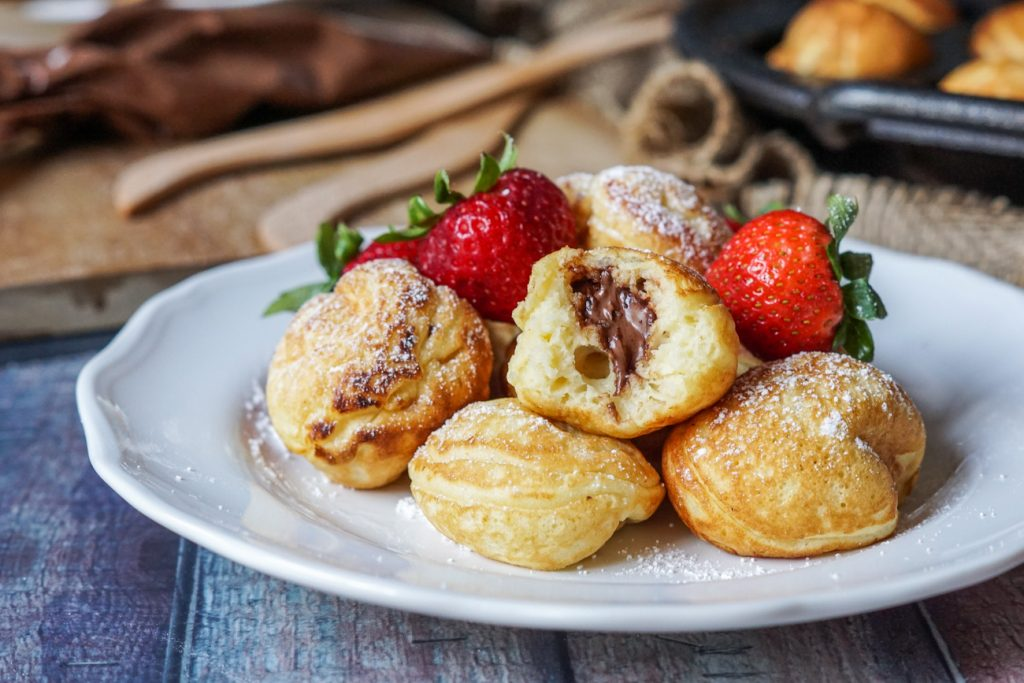 Nutella Stuffed Aebleskiver