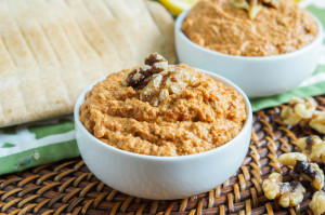 Muhammara (Syrian Red Pepper and Walnut Dip)