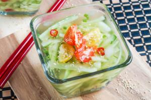 Oi Naengguk (Korean Chilled Cucumber Soup)