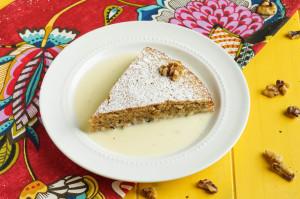 My Paris Market Cookbook Review and Gâteau aux Noix (French Walnut Cake)