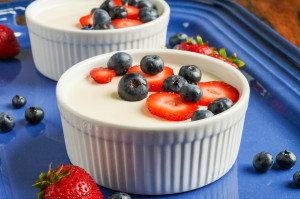 Paleo Italian Cooking GIVEAWAY {CLOSED} and Panna Cotta with Berries