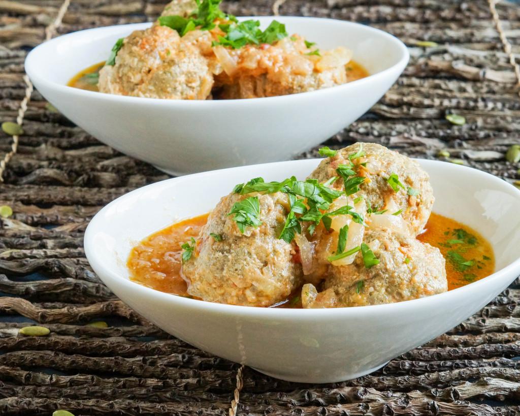 Kanda (Central African Pumpkin Seed Meatballs)