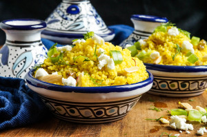 Near & Far Cookbook Review and Yellow Couscous