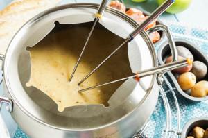Caramelized Shallot Gruyere Fondue