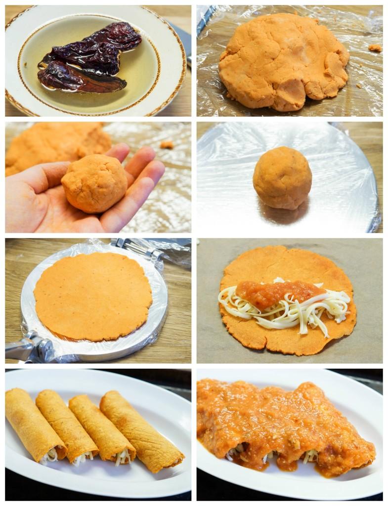 Enchiladas Cookbook Review and Enchiladas Rojas de Queso ...