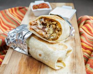 Secret Recipe Club: Breakfast Burritos