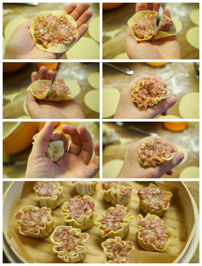 Shumai (Filipino Pork and Ginger Dumplings)