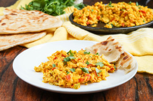 #SundaySupper Eggtastic Recipes: Yemeni Shakshouka (Yemeni Spiced Scrambled Eggs)