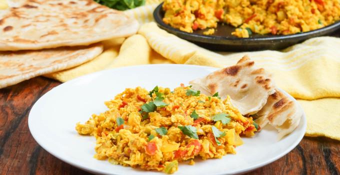 #SundaySupper Eggtastic Recipes: Yemeni Shakshouka (Yemeni Spiced Scrambled Eggs)