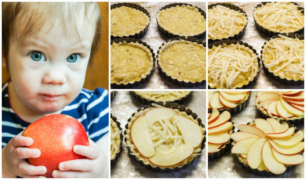 Apple and Caramelized Onion Tart