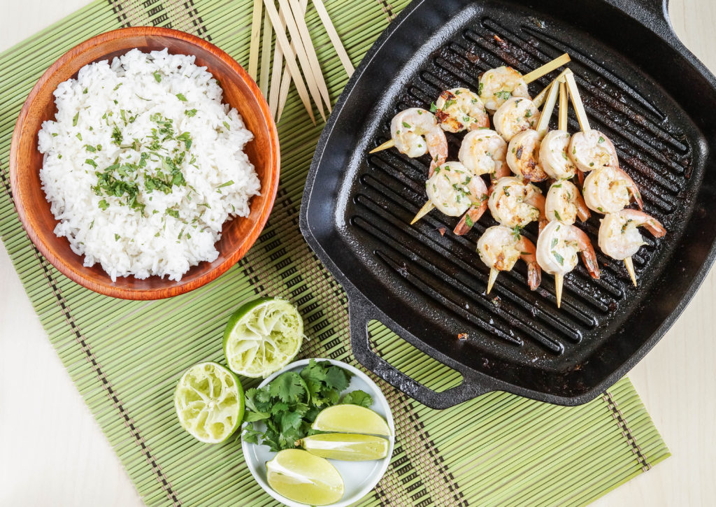 Margarita Grilled Shrimp Skewers (1 of 3)
