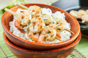 Secret Recipe Club: Margarita Grilled Shrimp Skewers