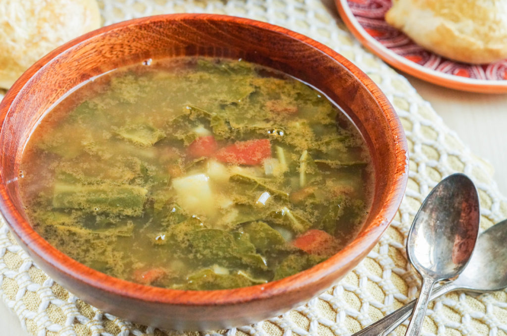 Sopa de Acelgas con Papas (Mexican Swiss Chard and Potato Soup) (2 of 3)