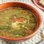 Sopa de Acelgas con Papas (Mexican Swiss Chard and Potato Soup) (2 of 3)