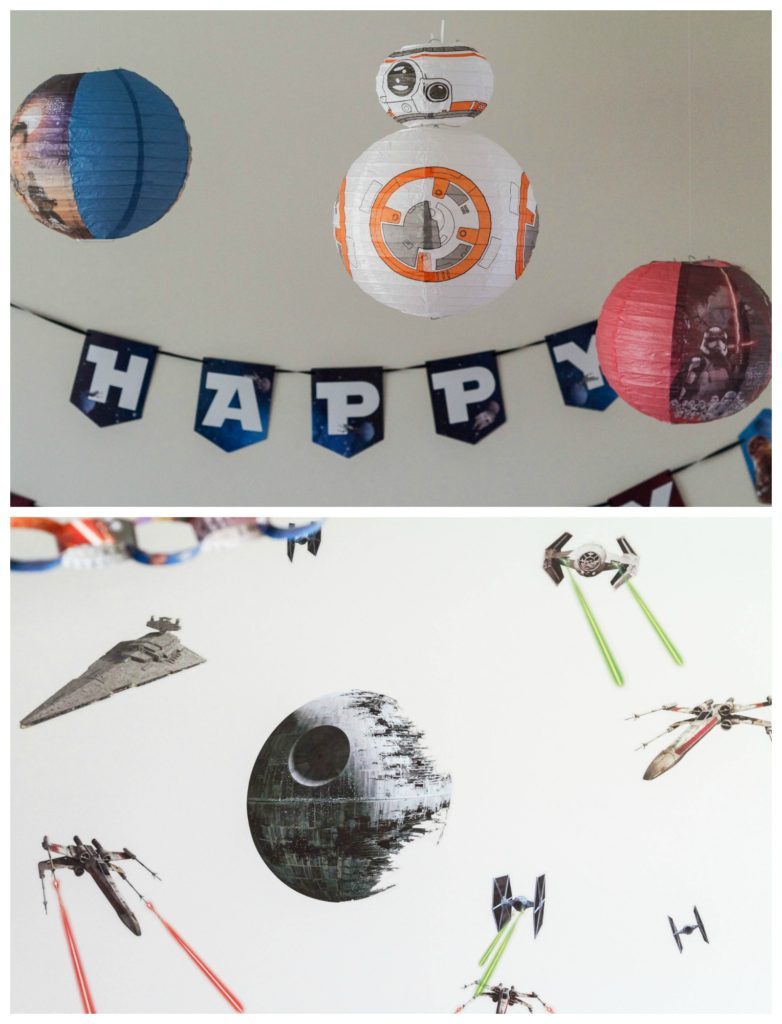 Star Wars Party- Decorations