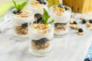 #BrunchWeek: Lemon Blueberry Parfait