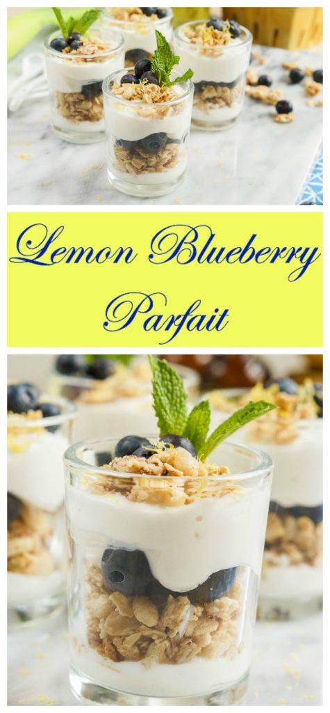 Lemon Blueberry Parfait