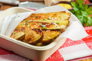 SRC Picnic & BBQ: Seasoned Parmesan Potato Wedges