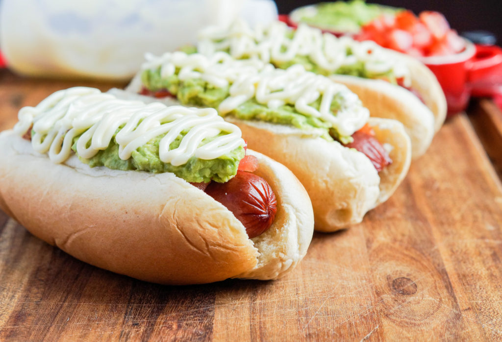 Completo Italiano (Chilean Italian-Style Hot Dog) (2 of 3)