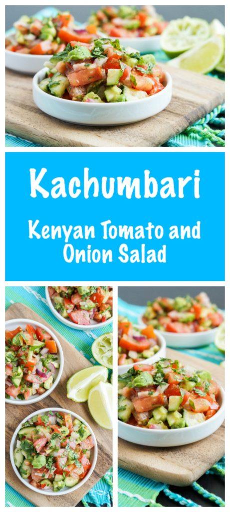 Kachumbari (Kenyan Tomato and Onion Salad)