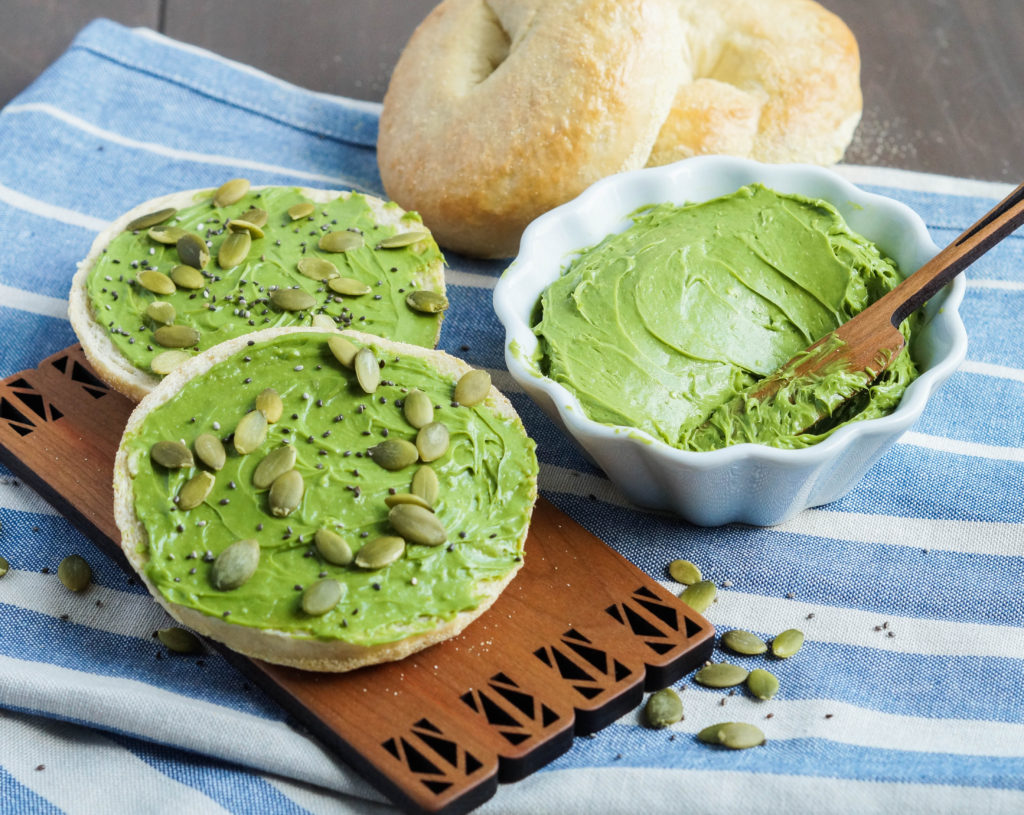 Matcha Cream Cheese Spread (2 of 3)