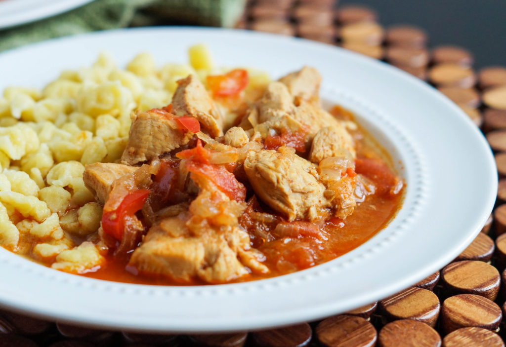 Csirkepörkölt (Hungarian Chicken Stew) (1 of 3)