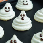 Meringue, ghosts, halloween, cookie, dessert