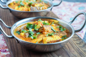 India! Cookbook Review and Paneer Korma