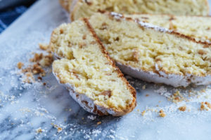 Classic German Baking Cookbook Review and Quarkstollen (German Quark-Almond Sweet Bread)