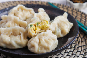 The Dumpling Galaxy Cookbook Review and Spinach and Egg Dumplings