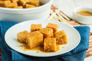 #FoodieExtravaganza Caramel: Fa'ausi (Samoan Coconut Caramel Bread)