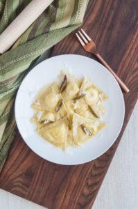 Lemon Ricotta Ravioli