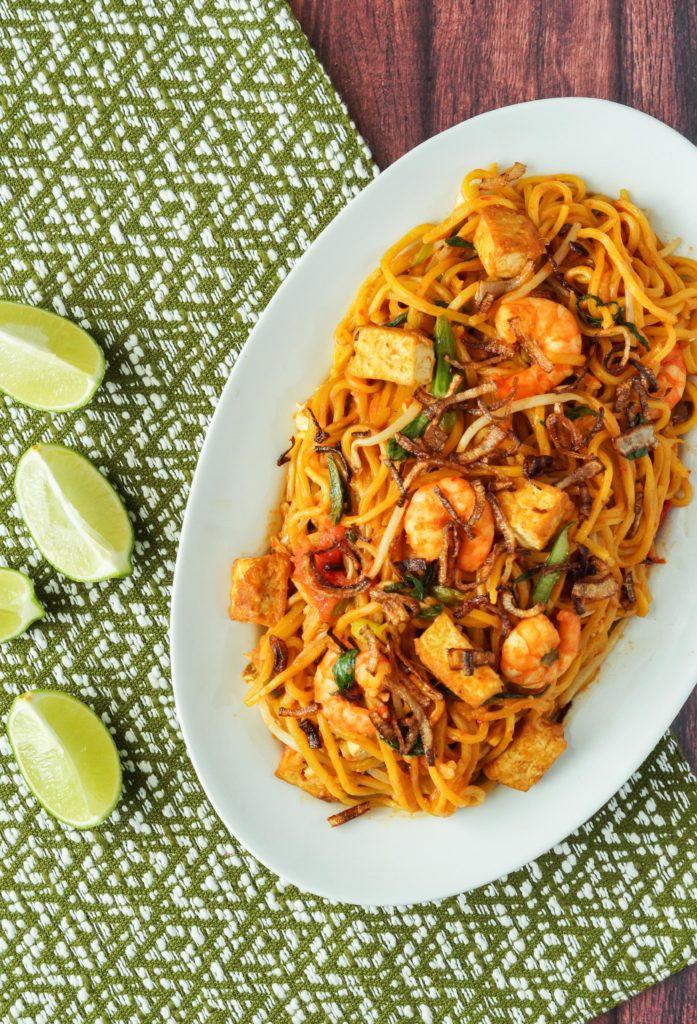 Malaysia Cookbook Review and Mee Goreng Mamak (Malaysian Fried Mamak Noodles) - Tara's