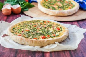 Bayd wa Khodra (Lebanese Egg Pie with Vegetables)