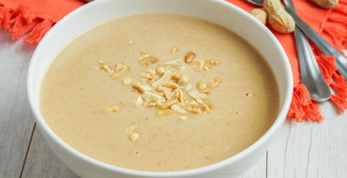 Old Town Alexandria and Virginia Peanut Soup